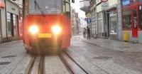 Modernizacja sieci tramwajowej w Grudziądzu - stare miasto ul. Długa